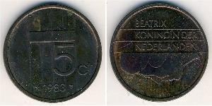 5 Цент Нидерланды Бронза