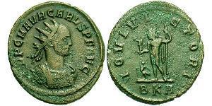 1 Antoninian Römische Kaiserzeit (27BC-395) Bronze Carus (230-283)
