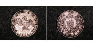 20 Centavo Chile Plata