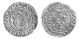 1 Gulden Imperial City of Augsburg (1276 - 1803) Gold