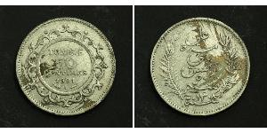 50 Centime  Silber
