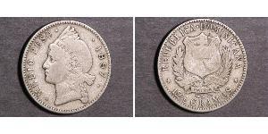 1/2 Peso  Silver