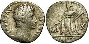 1 Denario Imperio romano (27BC-395) Plata Augusto (63BC- 14)