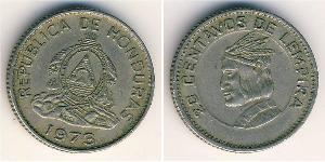 20 Centavo Honduras Rame/Nichel