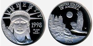 25 Dólar Estados Unidos de América (1776 - )