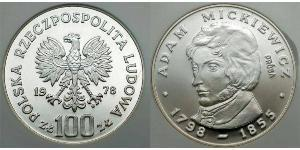 100 Злотый Польская Народная Республика (1952-1990)