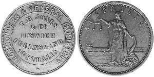 1 Penny Australien (1788 - 1939) Kupfer