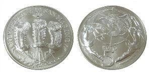 5 Euro San Marino Silver