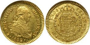 1 Escudo Chile Gold Charles IV of Spain (1748-1819)
