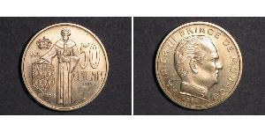 50 Centime Principato di Monaco
