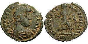 AE3 Byzantinisches Reich (330-1453) Bronze Valens (328-378)