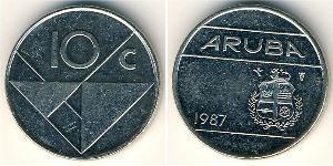 10 Cent Aruba Copper/Nickel