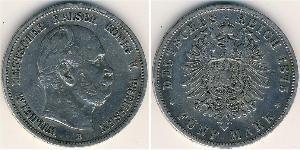 5 Mark Royaume de Prusse (1701-1918) Argent