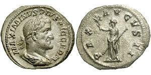1 Denier Empire romain (27BC-395) Argent Maximin I (173-238)