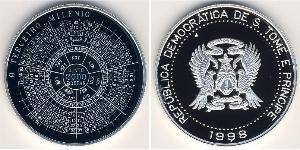 2000 добрас São Tomé and Príncipe (1469 - 1975)
