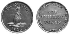 1 Shilling Australia (1788 - 1939) Argento