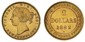 2 Dollar Kanada Gold Victoria (1819 - 1901)