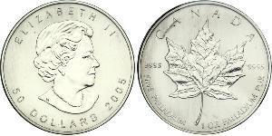 50 Dollar Canada Palladium Elizabeth II (1926-)