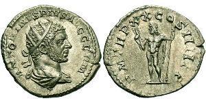 Монета 1 Антониниан Римская империя (27BC–395) Серебро 217 Каракалла (188–217)