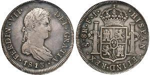 8 Real Chile Silver Ferdinand VII of Spain (1784-1833)