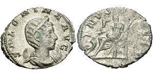 1 Antoniniano Imperio romano (27BC-395) Plata Salonina (?-268)