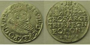 3 Grosh República de las Dos Naciones (1569-1795) Plata