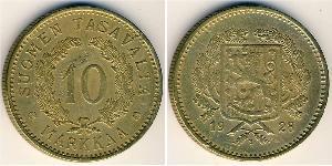 10 Mark Finnland (1917 - ) Bronze/Aluminium