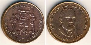 25 Cent Jamayica (1962 - ) Bronze