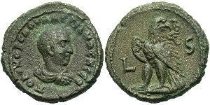 1 Tetradrachm Empire romain (27BC-395) Bronze Salonin (242 - 260)