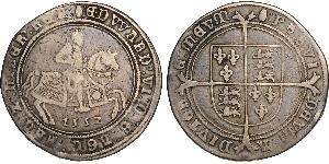 Срібна крона Едварда VI