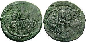 1 Assarion Empire byzantin (330-1453) Bronze Andronic II Paléologue (1258-1332)
