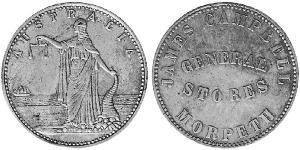 1/2 Penny Australia (1788 - 1939) Rame