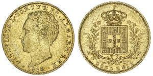 2000 Reis Kingdom of Portugal (1139-1910) Gold Luís I of Portugal (1838 - 1889)