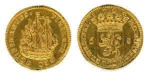 1 Стивер Республика Соединённых провинций (1581 - 1795) Золото