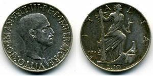 10 Lira Kingdom of Italy (1861-1946) Silver