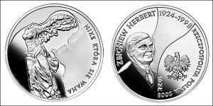 10 Злотый Республика Польша (1991 - ) Серебро