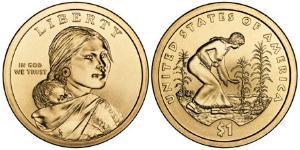 Доллар Сакагавеи 2009