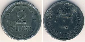 2 Filler Hongrie (1989 - ) Zinc