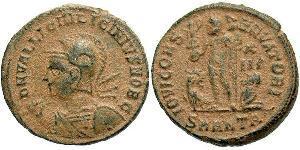 1 Follis /  AE3 Impero romano (27BC-395) Bronzo Licinius II (315-326)