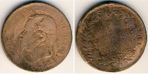 Centesimo Kingdom of Italy (1861-1946) Copper Victor Emmanuel II of Italy (1820 - 1878)