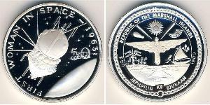 50 Dollar Marshall Islands Silver