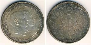 2 Krone Danemark Argent