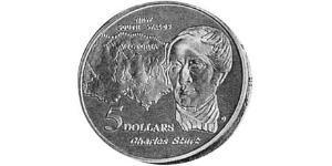 5 Dollaro Australia (1939 - ) Argento
