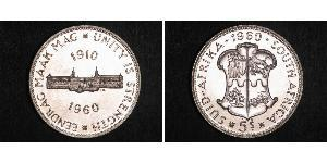 5 Shilling South Africa Silver