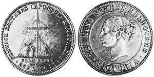 1 Penny Ôstralie (1788 - 1939) Bronze