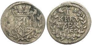1 Kreuzer Germany Silver