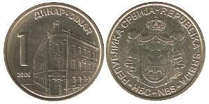1 Denaro Serbia Zinco/Rame
