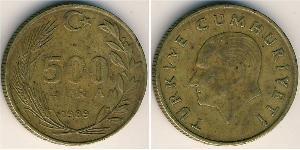500 Lira Türkei (1923 - )