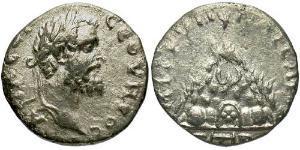 1 Drachm Roman Empire (27BC-395) Silver Septimius Severus (145- 211)
