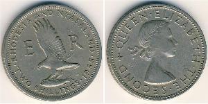 2 Шиллинг Родезия (1965 - 1979) Медь